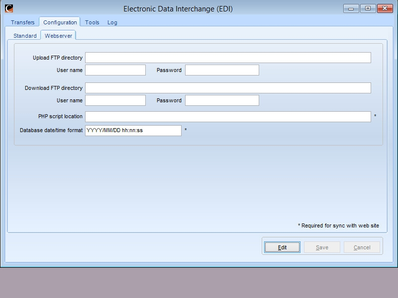 Electronic Data Exchange : Edi